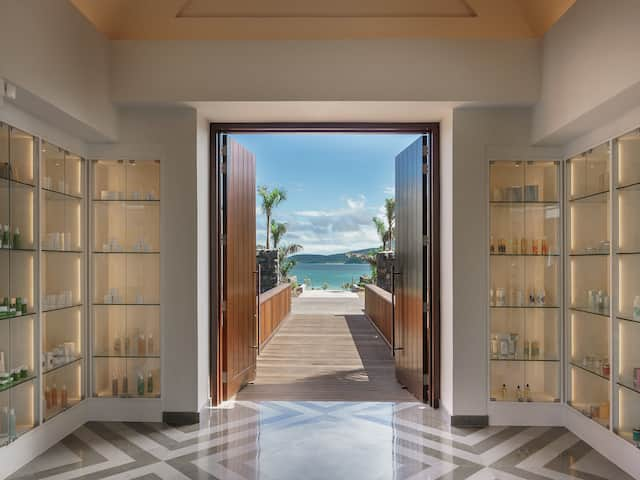 Park Hyatt St. Kitts Christophe Harbour Spa Entrance