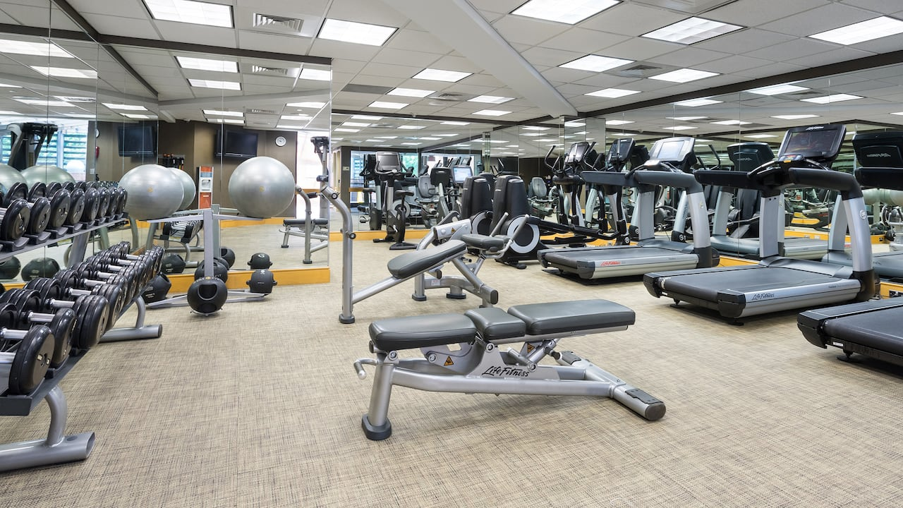 Hyatt Regency Princeton Fitness Center Photo
