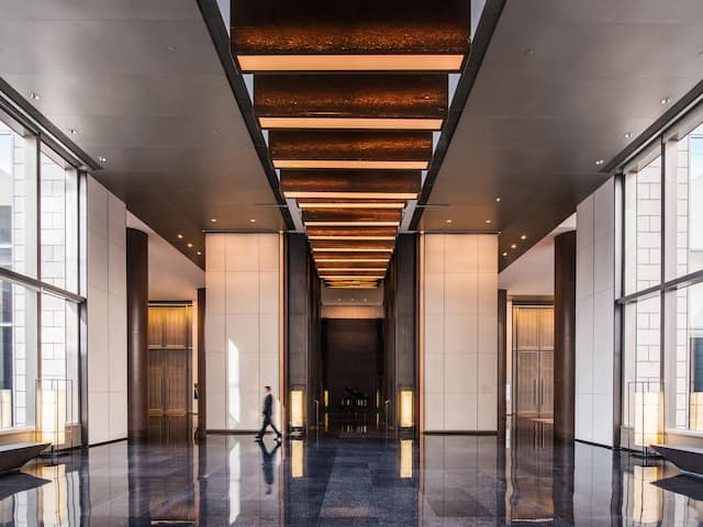 Ballroom Foyer Entrance