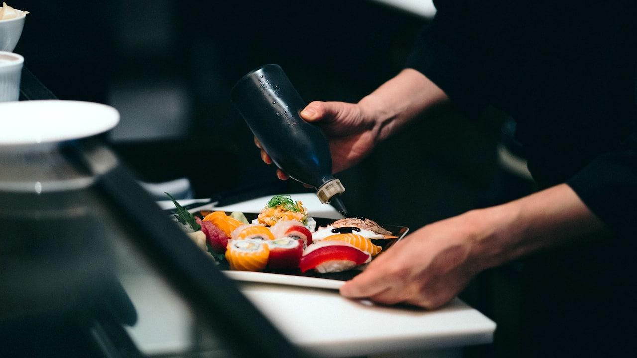 Sushi Preparing