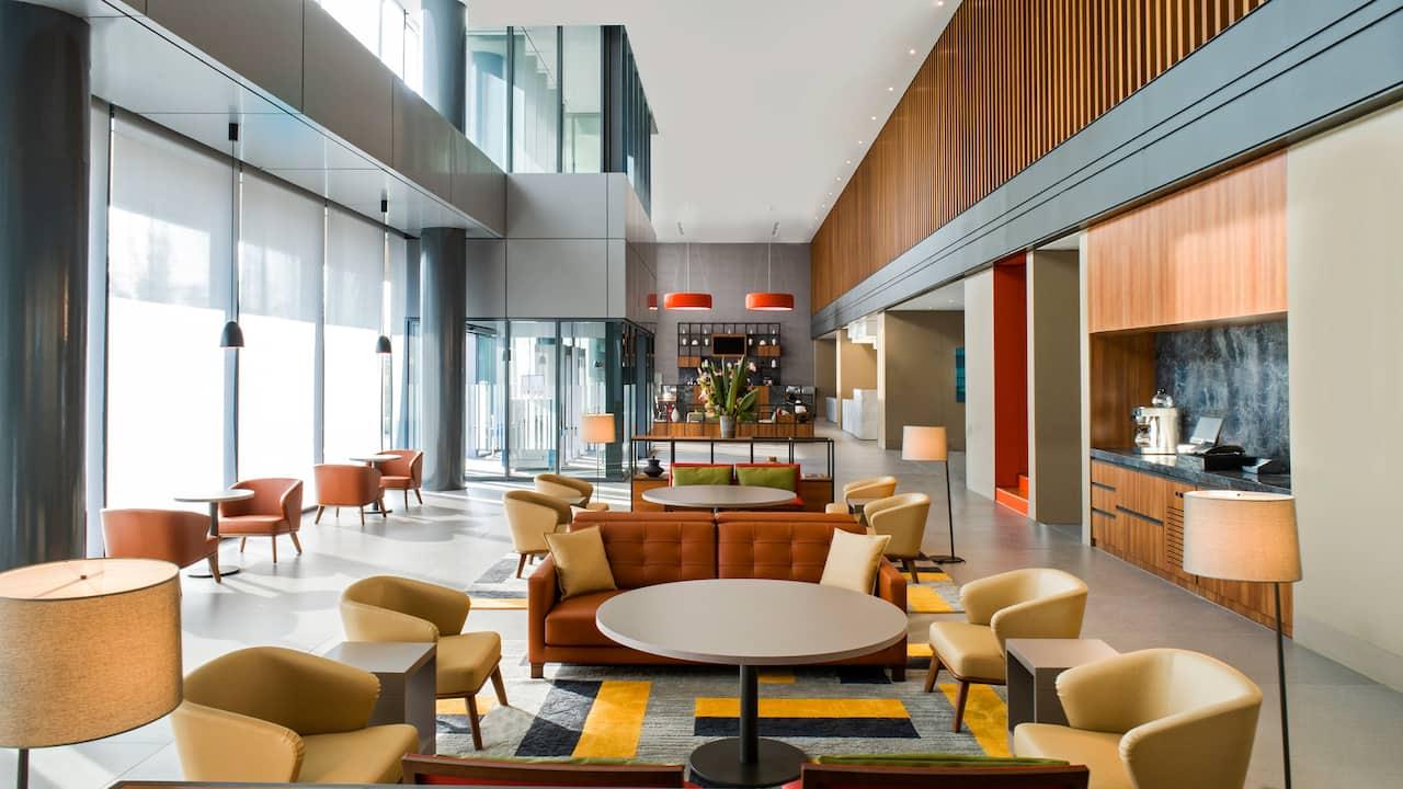 Hyatt House Gebze lobby