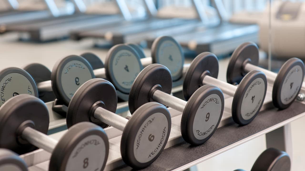 hyatt house gebze fitness dumbell