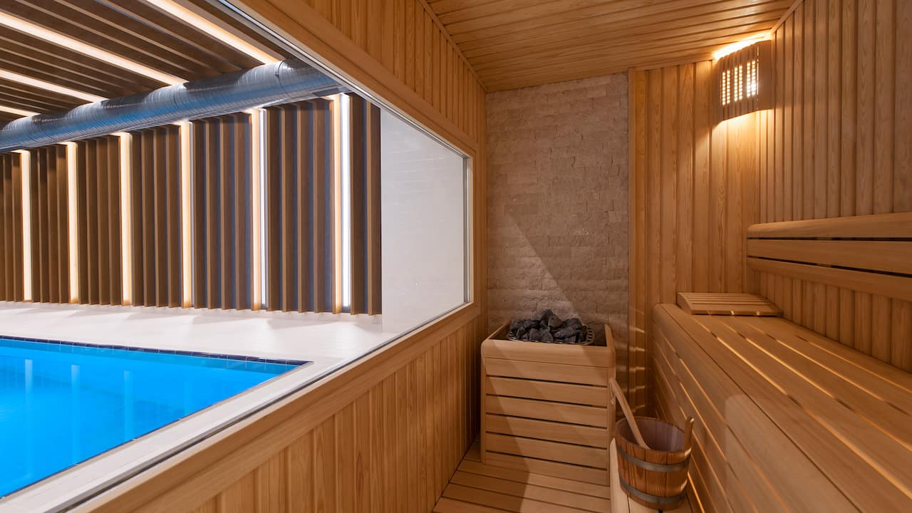 Hyatt House gebze pool and sauna