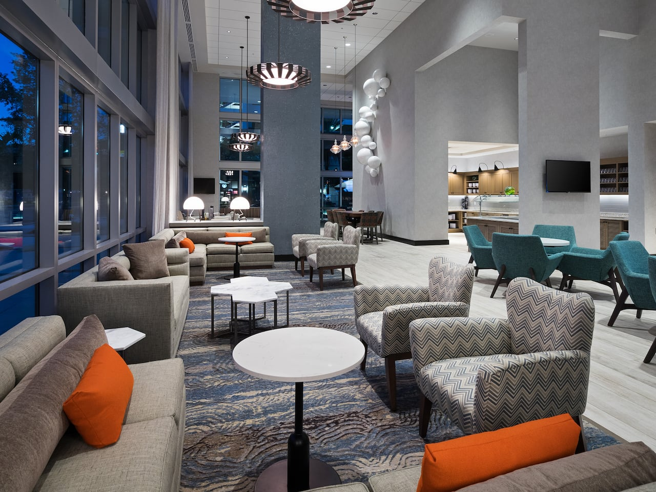 Hyatt Place St. Petersburg/Downtown Lobby Seating