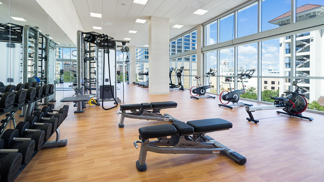 Hyatt Place St. Petersburg/Downtown 24/7 Gym