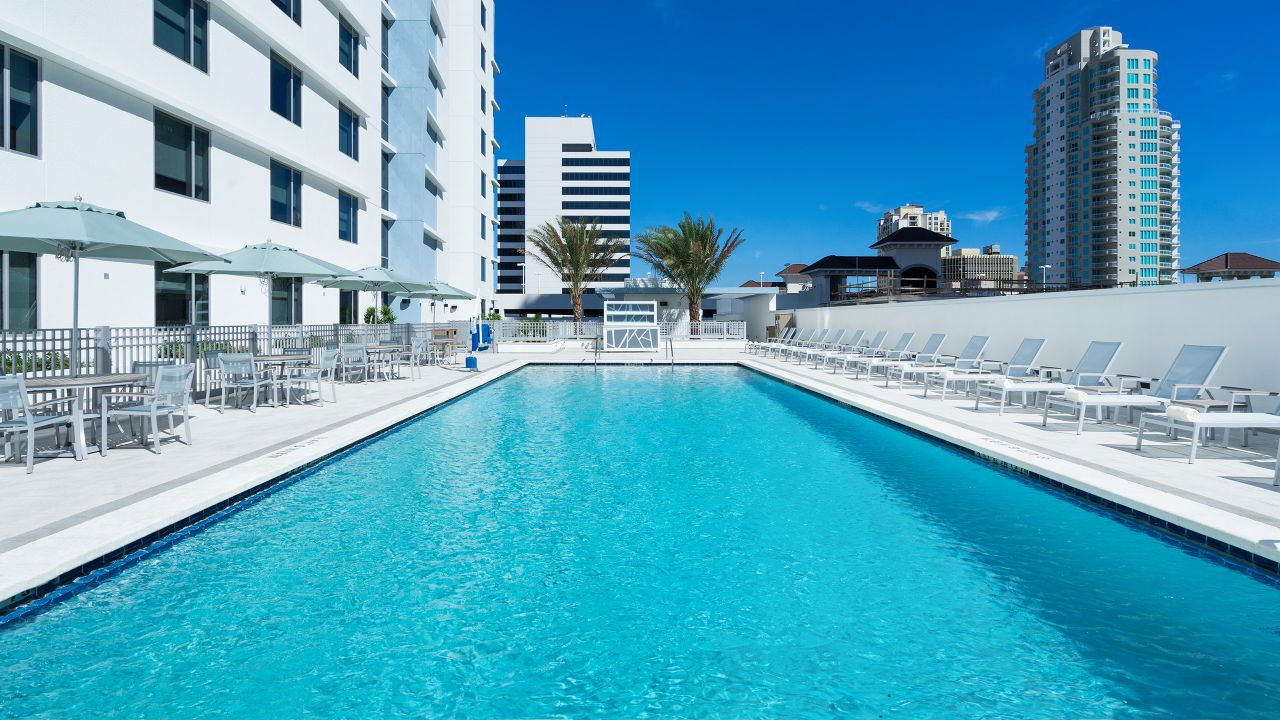 Hyatt Place St. Petersburg/Downtown Outdoor Pool