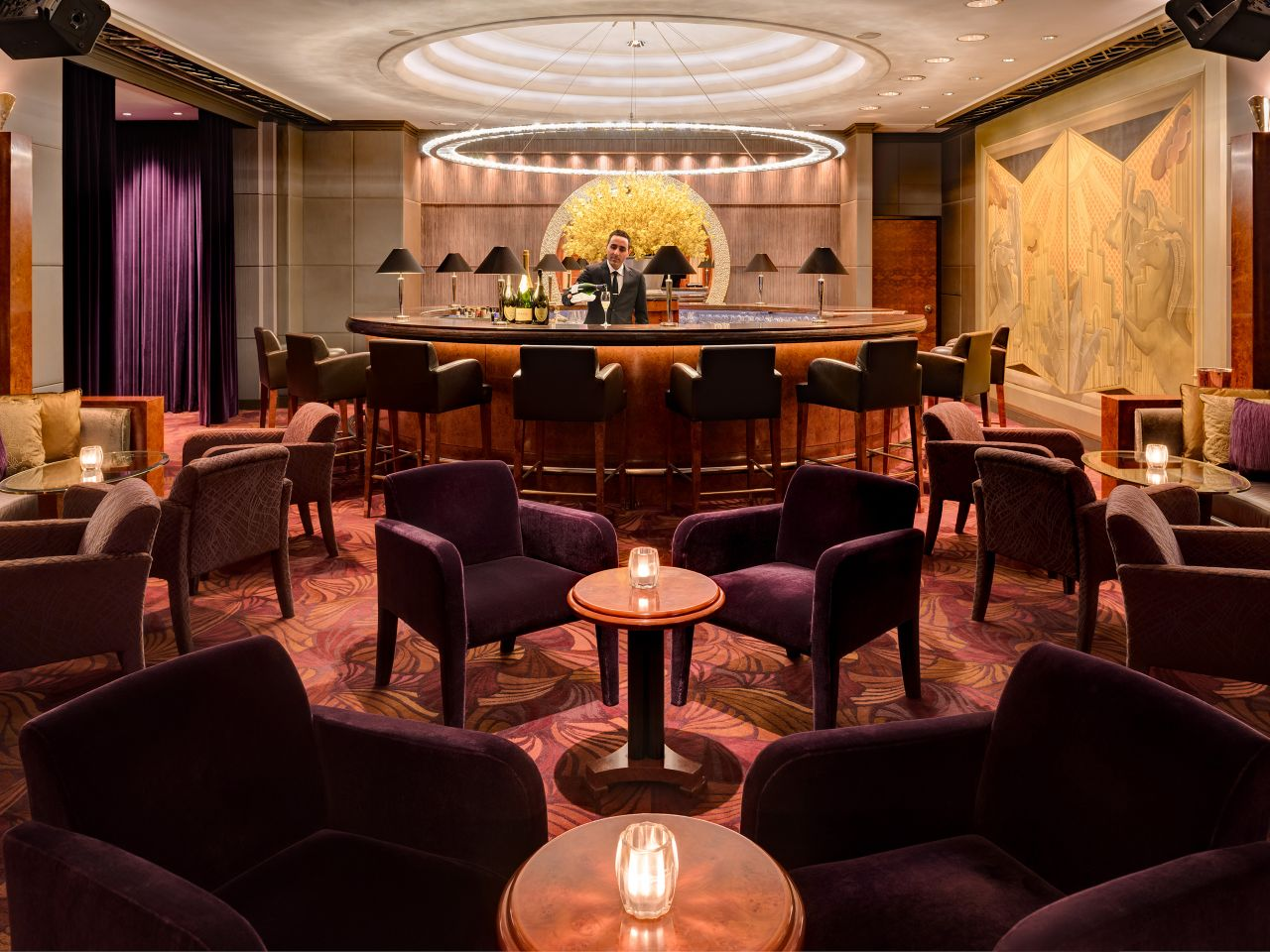 Champagne Bar Interior