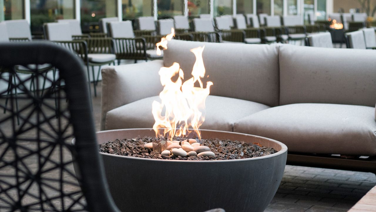 Arc Bar Fire Pit
