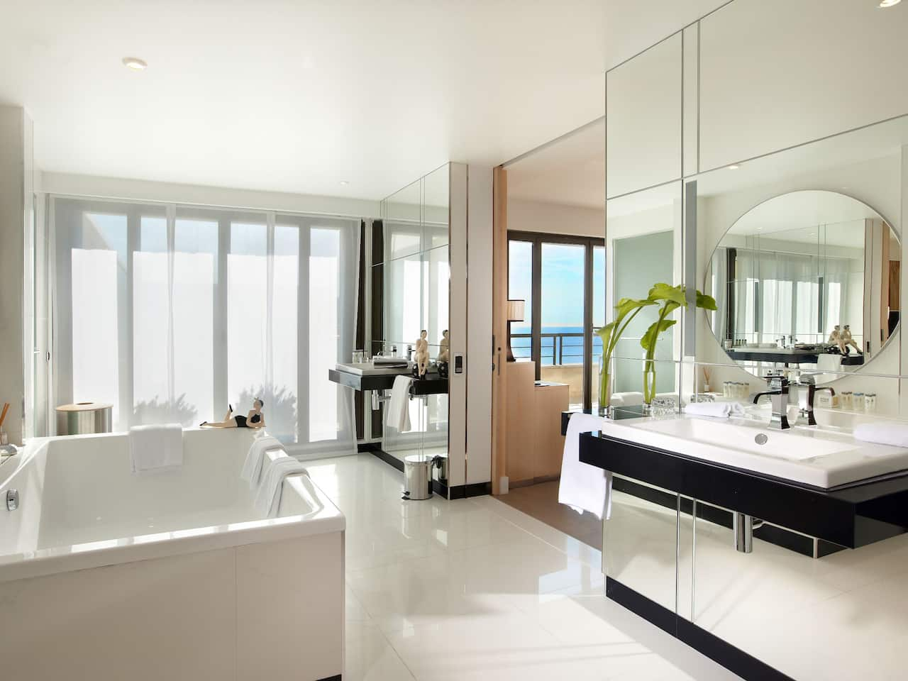 Hyatt Regency Nice  Salle de bain