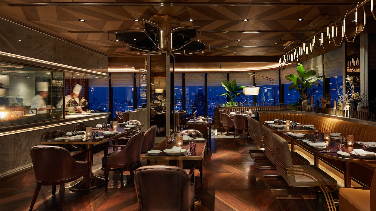 Penthouse Bar Grill Restaurant