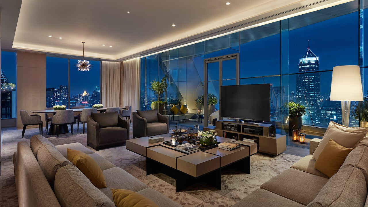 Luxury 5-star hotel in bangkok Presidential Suite