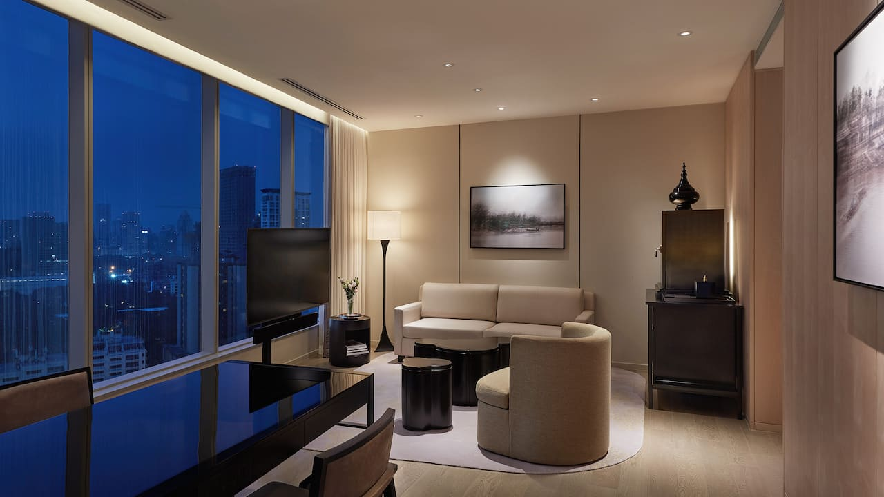 Park Suite Living Room