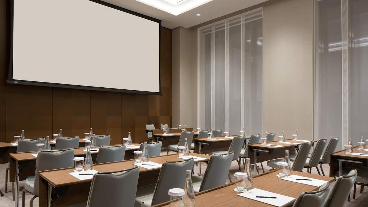 Multi-functional meeting spaces for any type of events at premium business hotel Hyatt Regency Moscow Petrovsky Park near Dynamo