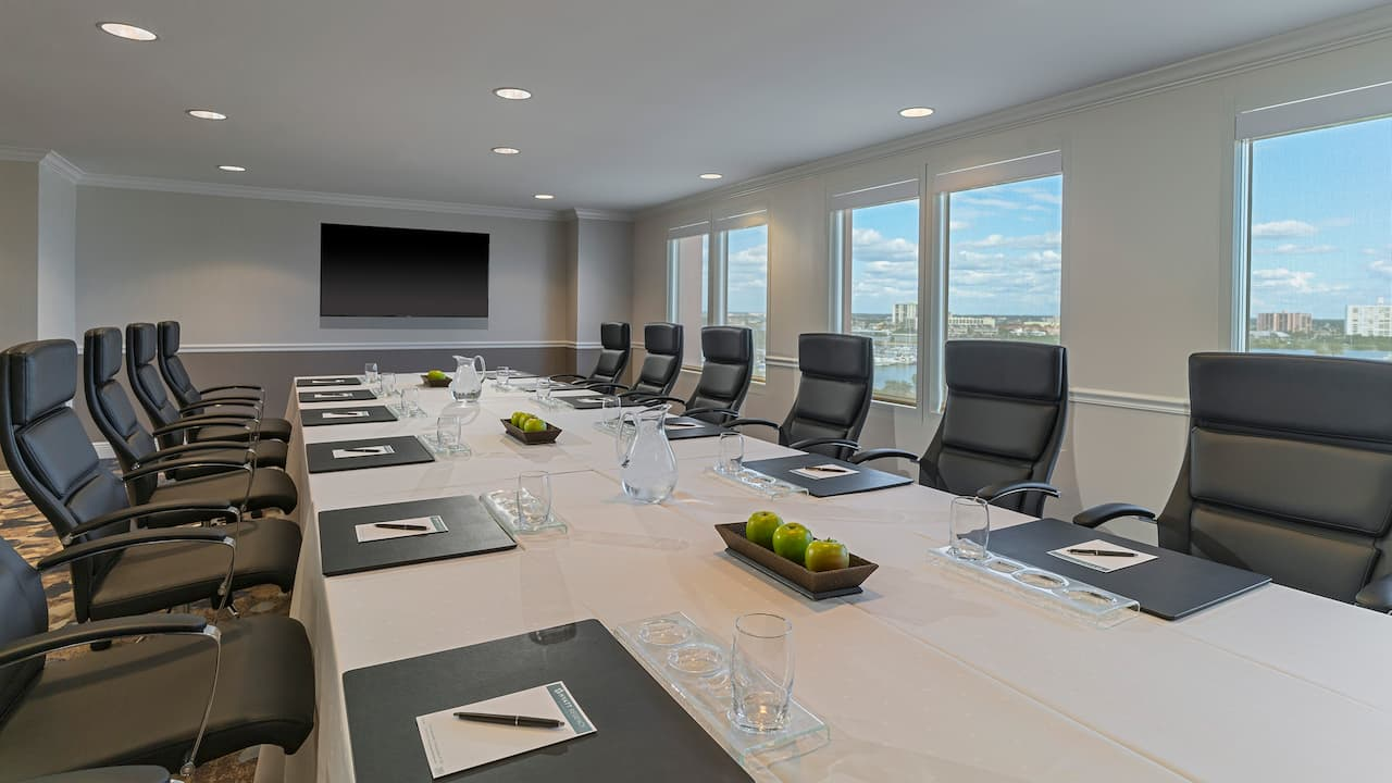 Hyatt Regency Clearwater Beach Resort Meeting Boardroom