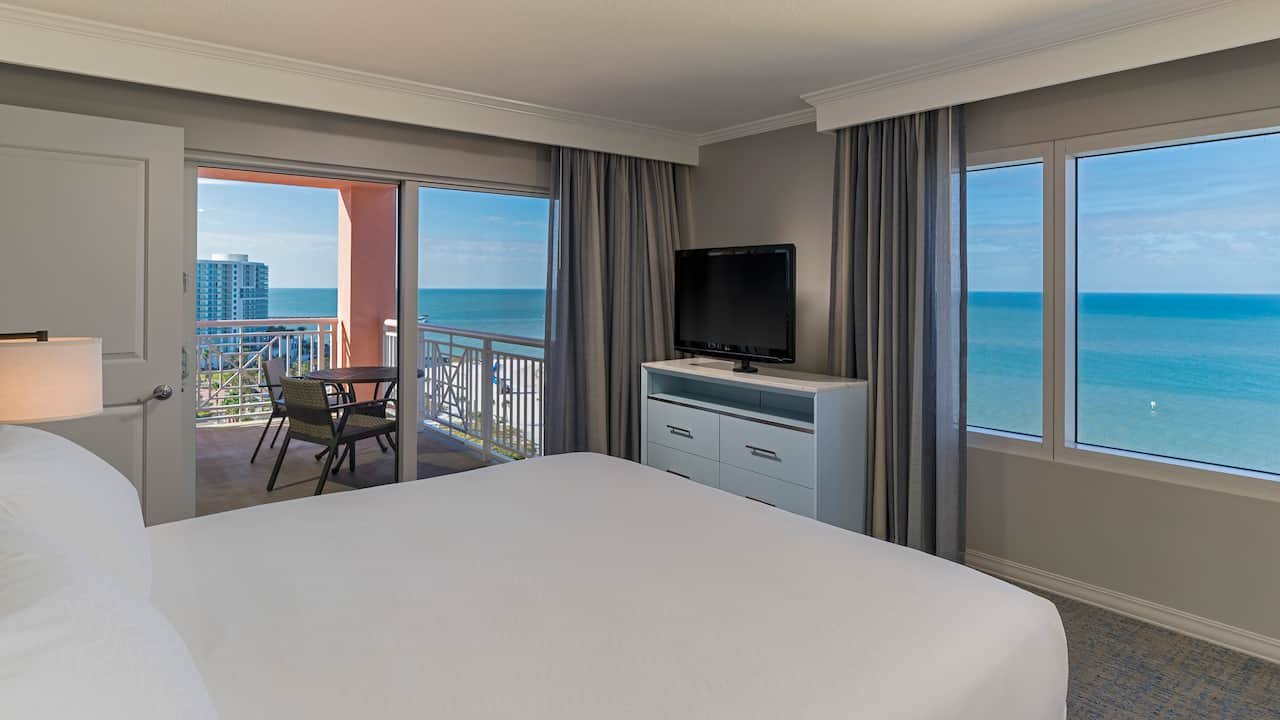 Hyatt Regency Clearwater Beach Resort King Room Gulf Views