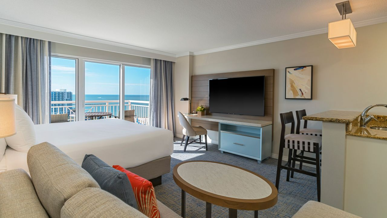 Hyatt Regency Clearwater Beach Resort Deluxe King Bed Gulf Views