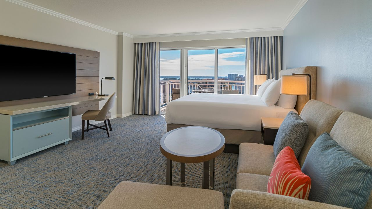 Hyatt Regency Clearwater Beach Resort King Guestroom