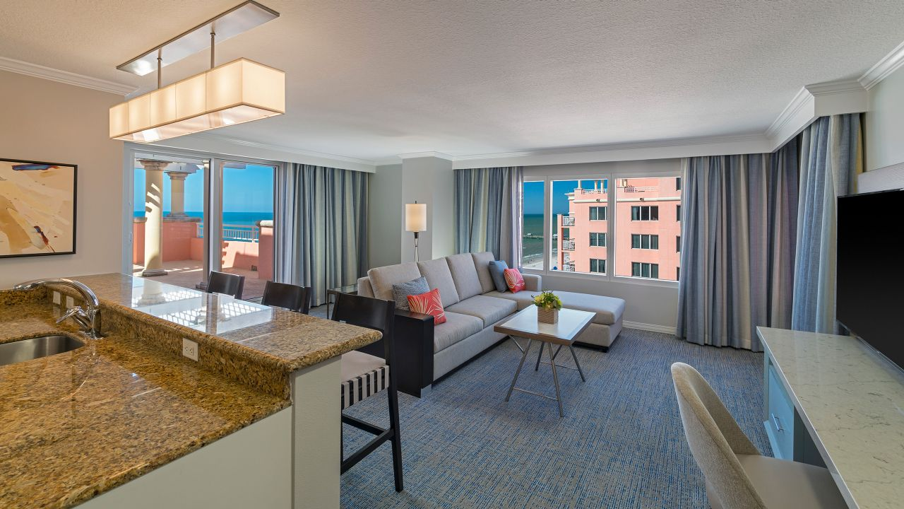 Hyatt Regency Clearwater Beach Resort King Suite with Balcony