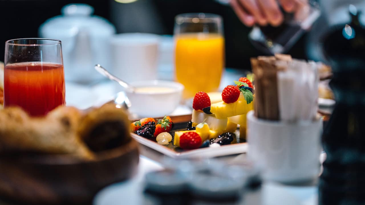Members save more with breakfast