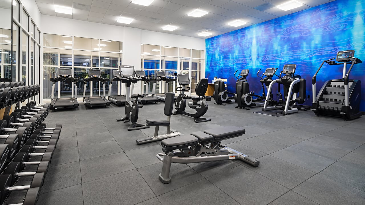 Hyatt House Washington DC, Workout Center