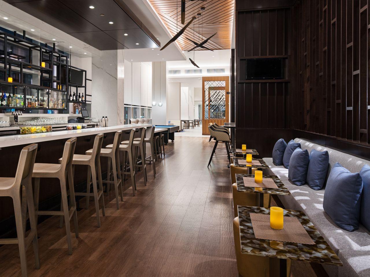 Hyatt House Washington DC, H Bar seating