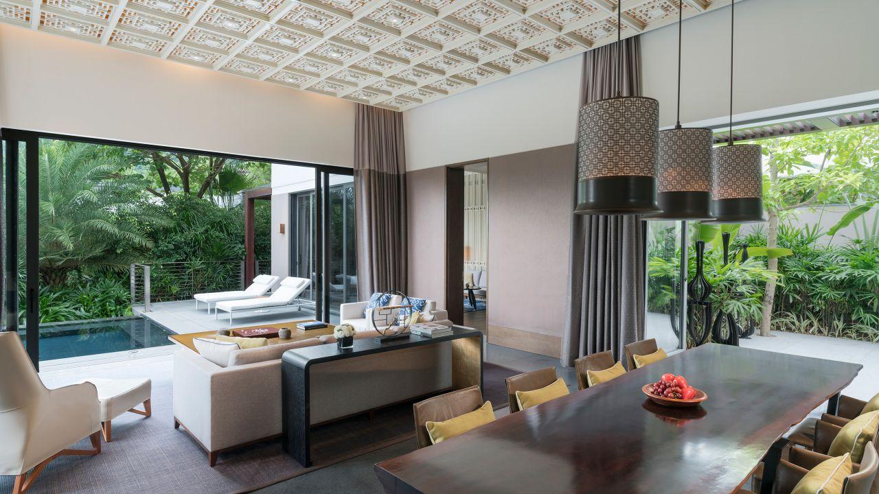 Ocean View Villa Room Twin