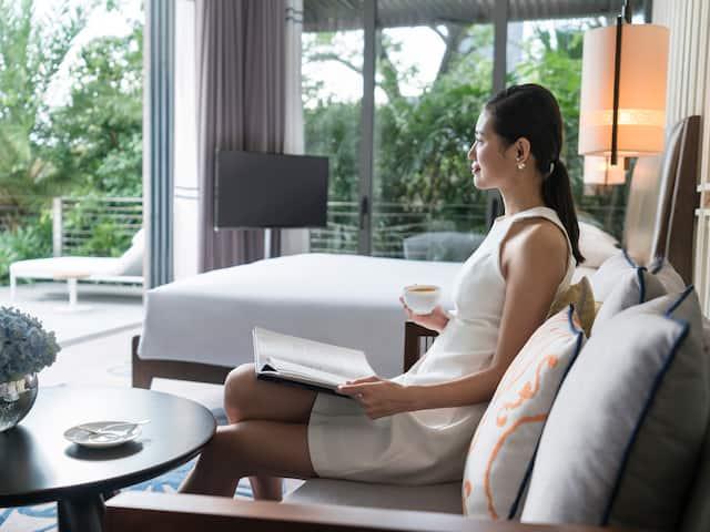 Ocean View Villa Lifestyle Bedroom
