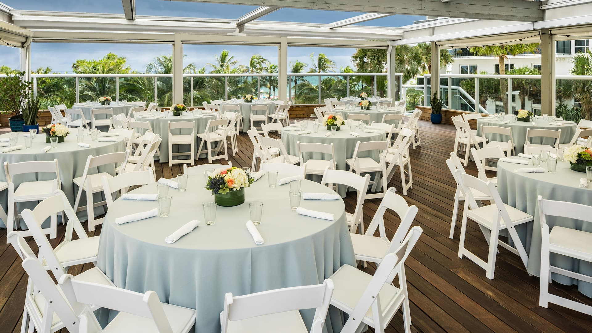 The Confidante Miami Beach Vista Terrace Banquet