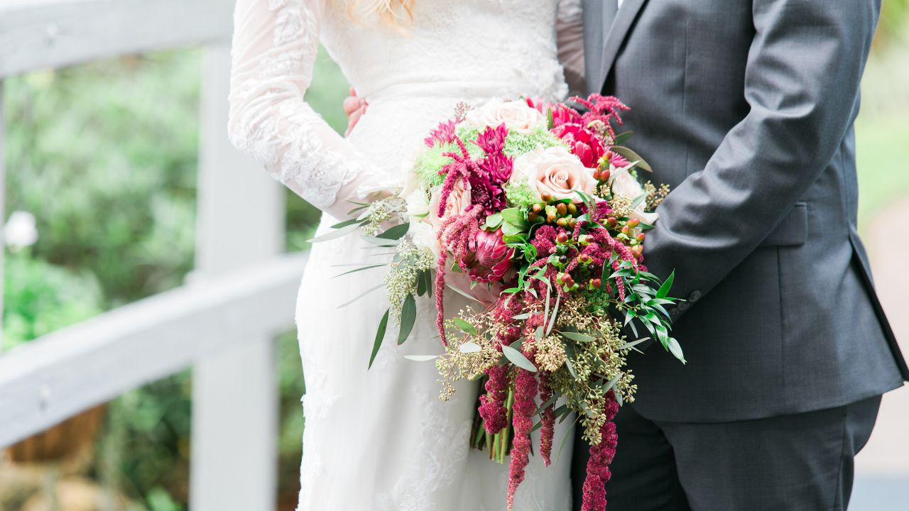 Wedding Couple Bouquet