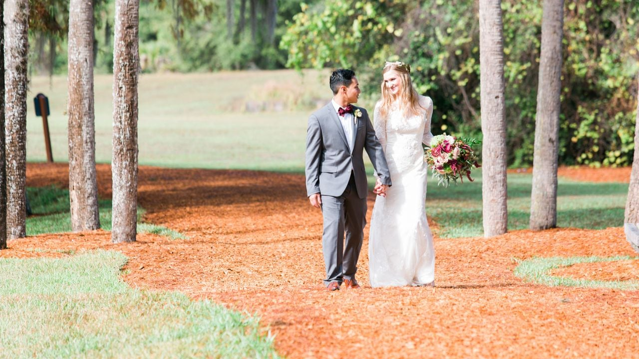 Hyatt Regency Grand Cypress Cypress Point outdoor wedding
