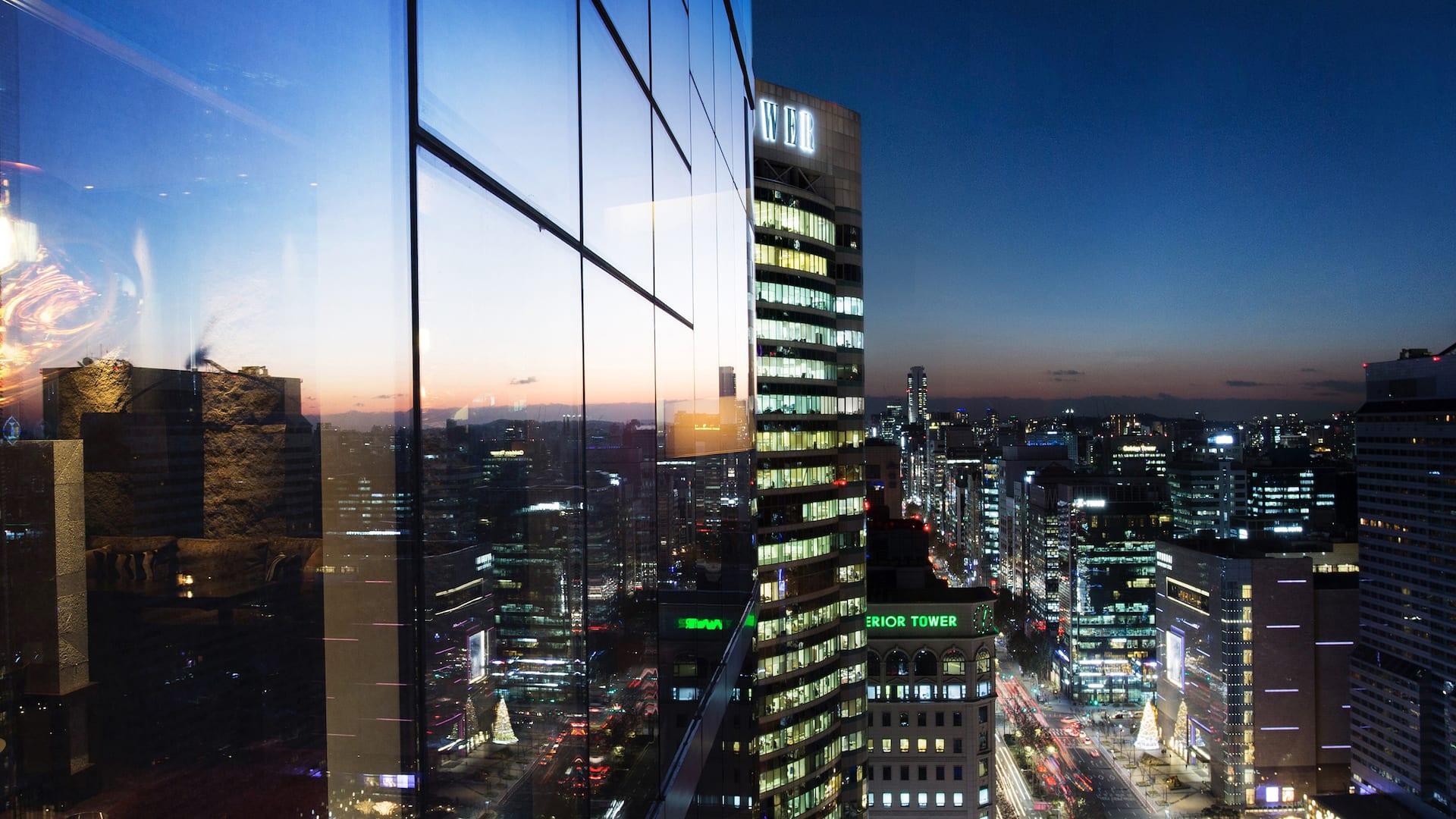 최고급 럭셔리 호텔 : 파크 하얏트 서울