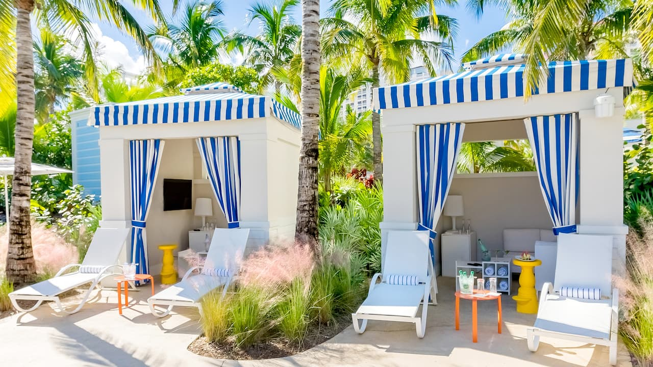 Out Island Pool Cabanas