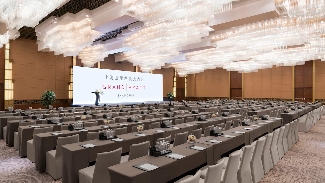 Grand Hyatt Shanghai Crystal Ballroom