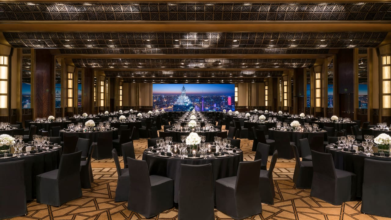 Grand Hyatt Shanghai grand ballroom