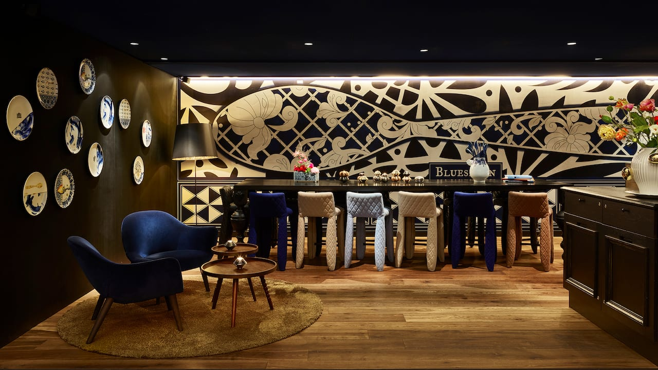 Andaz Amsterdam Prinsengracht Bluespoon Restaurant