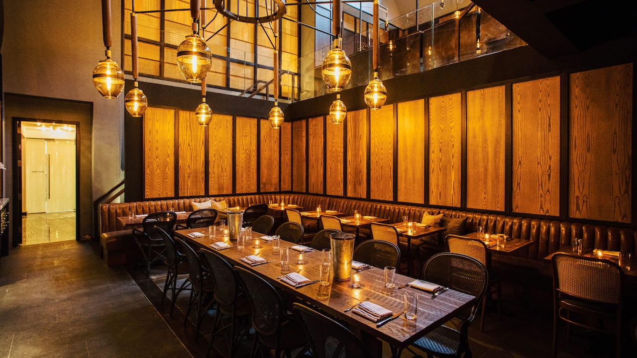 Private Dining or Semi-Private Meeting Space at Bowery Road