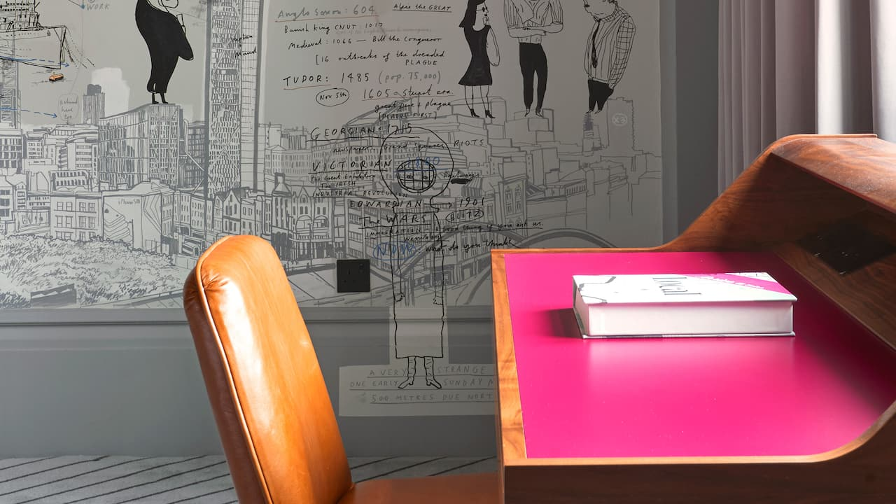 Large King Street Art Desk | Andaz London Liverpool Street