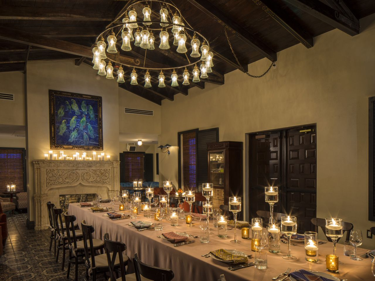 The 1930s House Dinner Reception