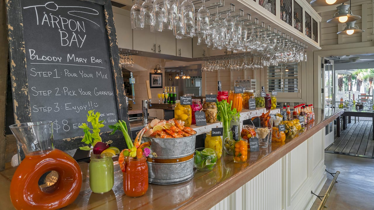 Tarpon Bloody Mary Bar