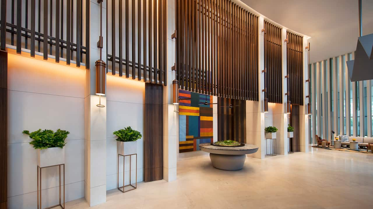 Level Two Hotel Entrance Andaz Singapore