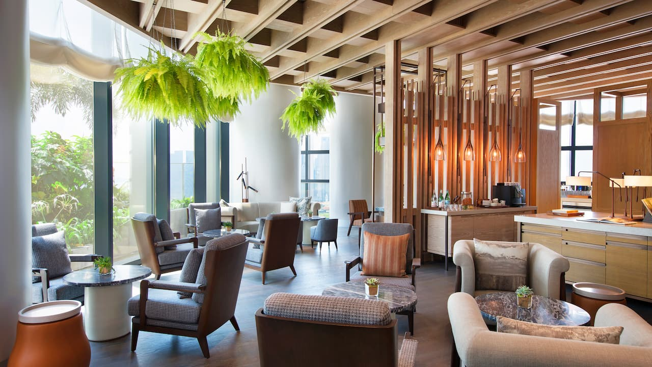 Andaz Singapore Sunroom Lounge & Evening Reception (Complimentary Drinks)