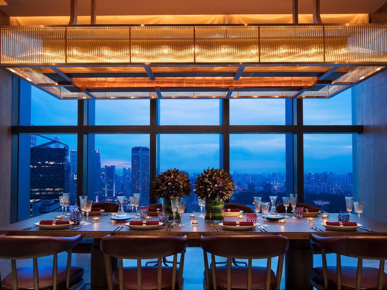 665 Farenheit Premium Steakhouse Restaurant Andaz Singapore