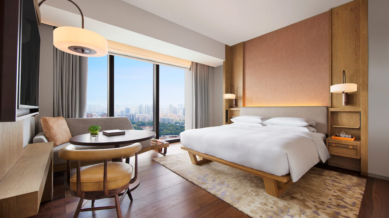 1 King Bed with City View (Singapore skyline view), Andaz Hotel Singapore