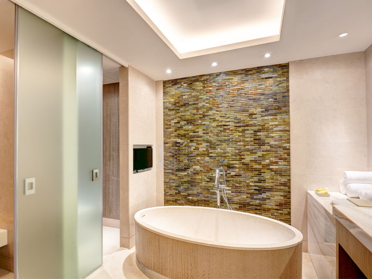 Hyatt City of Dreams Manlia Bathroom