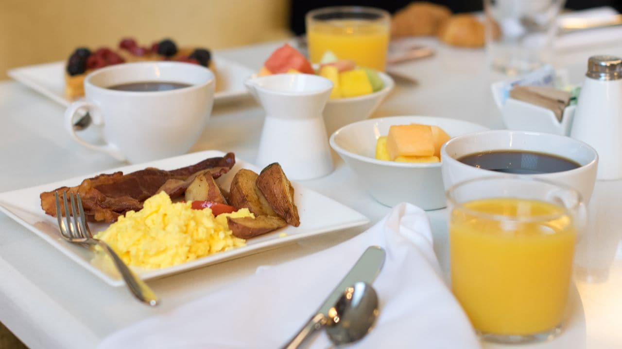 8 Block Breakfast at Hyatt Regency New Orleans
