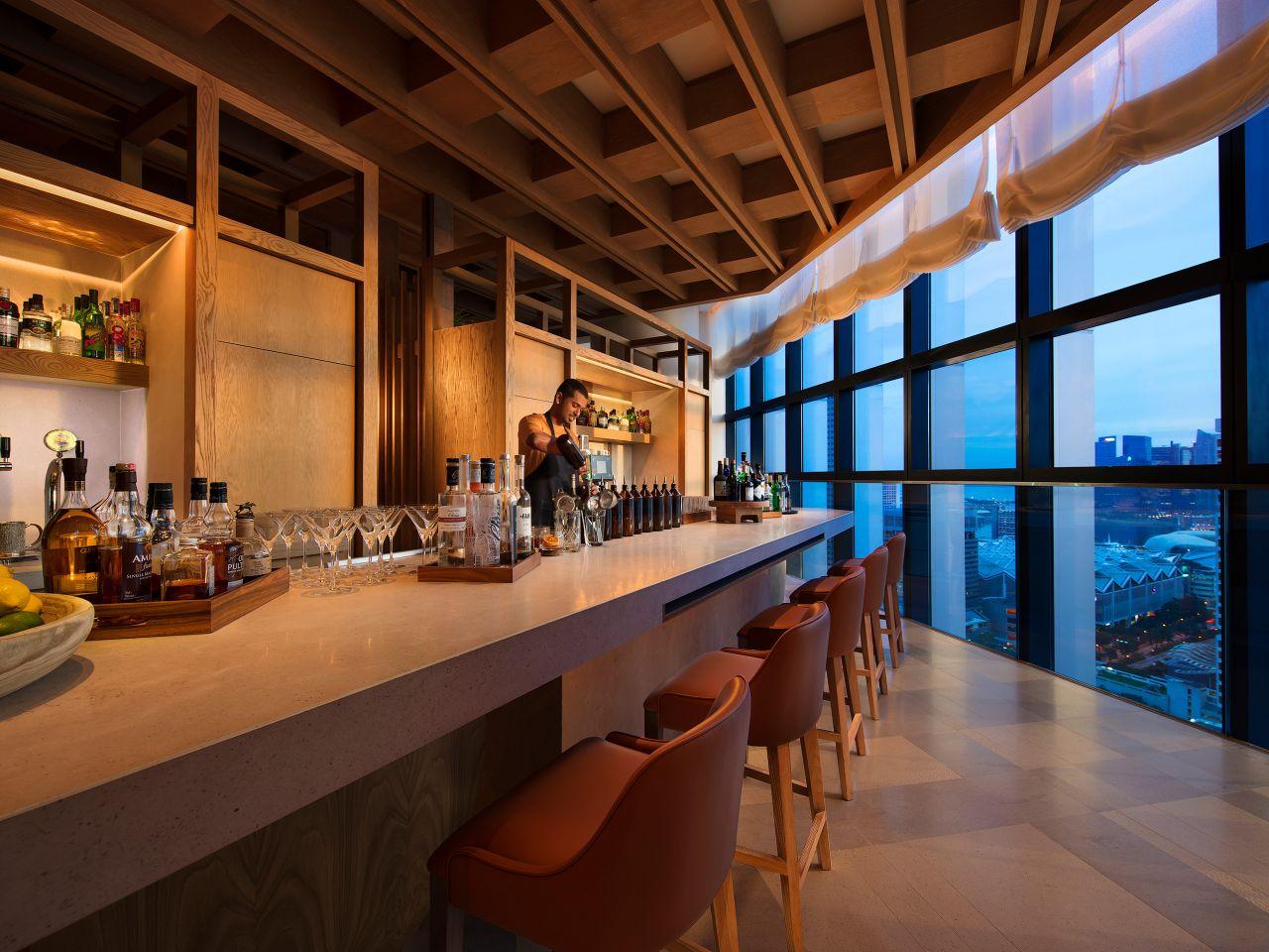 Bar Square Hyatt Andaz Singapore