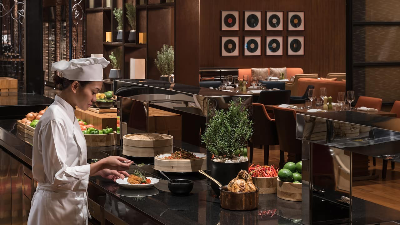 Grand Hyatt Manila The Grand Kitchen Buffet