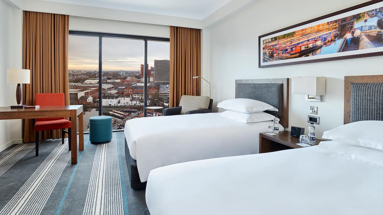 Twin View Room
