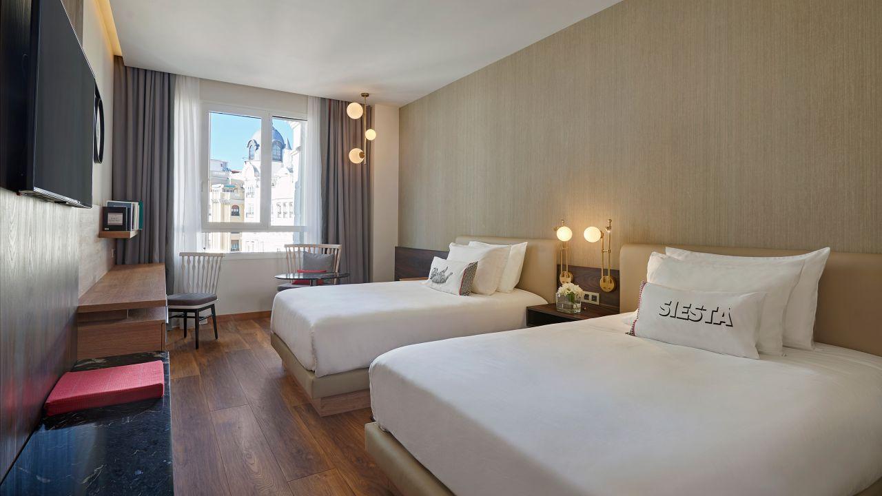 Modern Hotel Rooms In Madrid Hyatt Centric Gran Via Madrid