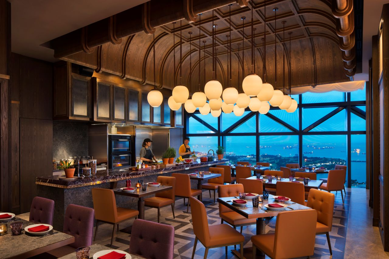 665 Farenheit restaurant view